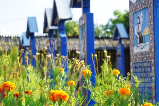 Cimitirul Vesel (The Merry Cemetery) in Săpânța, Maramureş county