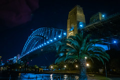 Harbour Bridge at night 3