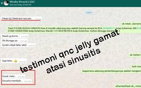 Kesaksian Nyata Dari Para Konsumen Jelly Gamat