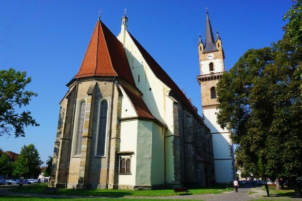 Biserica Evanghelică (Lutheran Church), Bistrița
