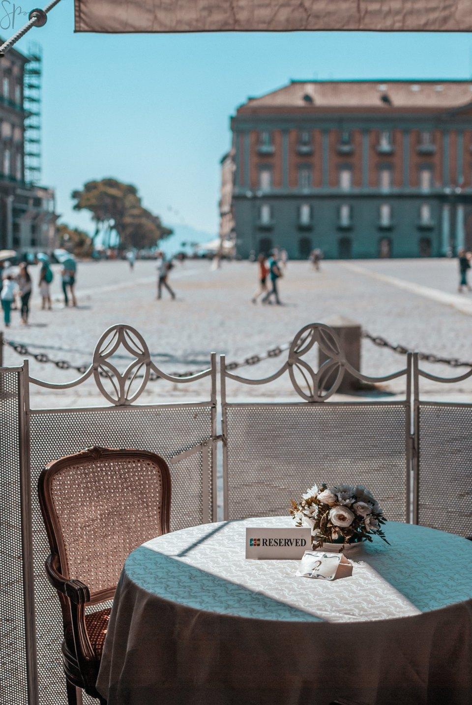 Gran Caffè Gambrinus, Napoli