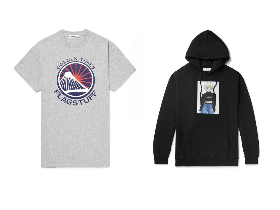 Sudadera y camiseta de Flagstuff