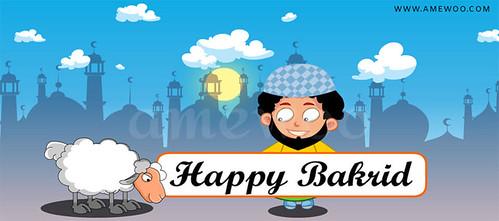 Bakrid #amewoo Greetings