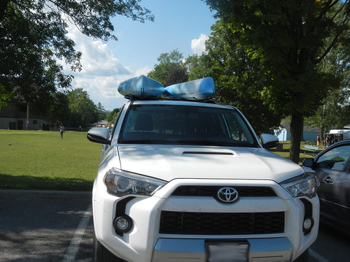Carleton Place - the truck with kayaks
