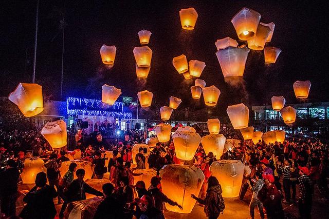 1d. Pingxi Sky Lantern Festival