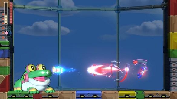 Mega Man 11 – 3_Bounce_Miniboss