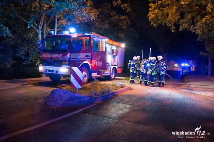 Wohnhausbrand Hattersheim 03.09.18
