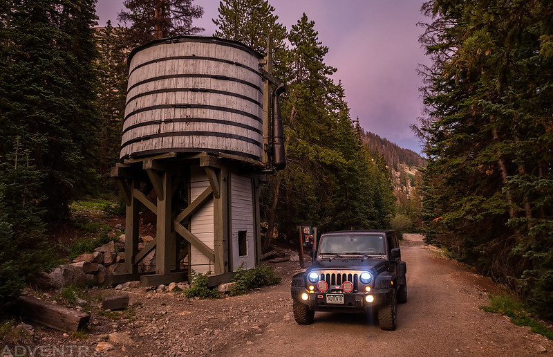Williams Gulch Water Tank