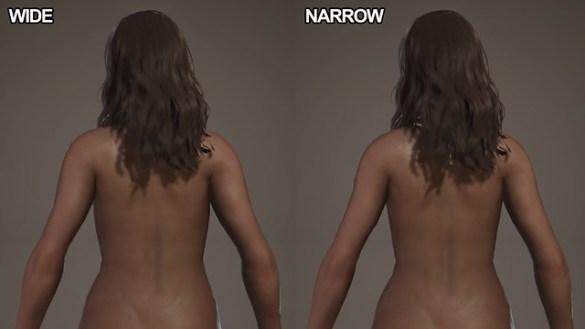 Monster Hunter World - Narrow Wide Nude Mod
