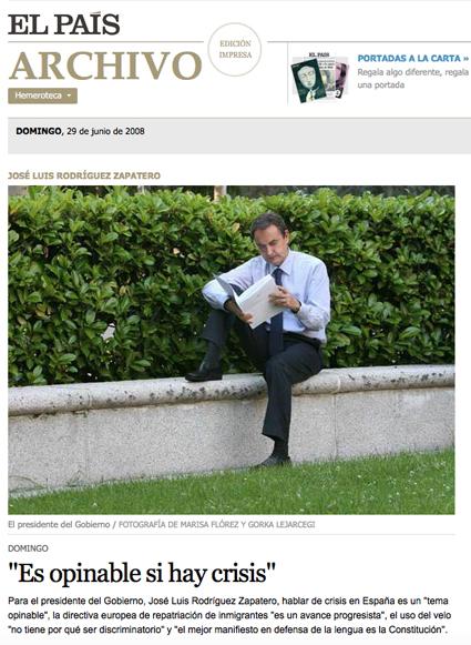 18i15 Zapatero y la crisis junio 2008 Uti 425
