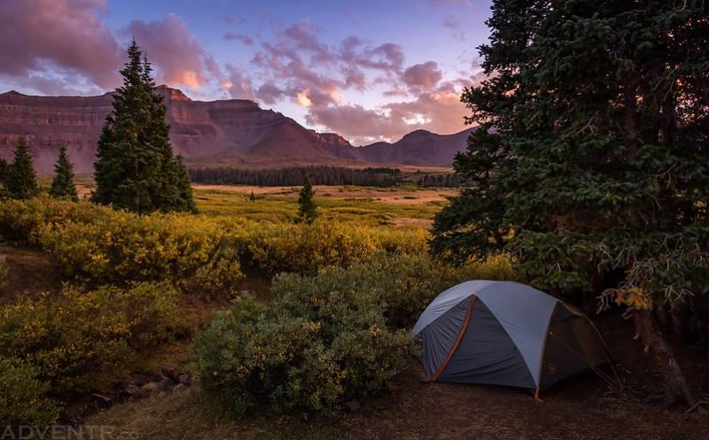 Evening At Camp