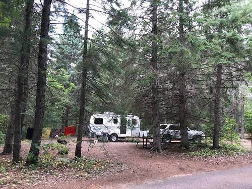 Chutes Provincial Park camp the first time around