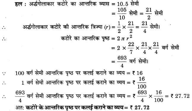 UP Board Solutions for Class 9 Maths Chapter 13 Surface Areas and Volumes 13.4 5