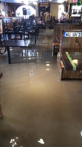 Haus Heidelberg Flooding