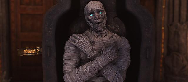 Podivná brigáda - mumie