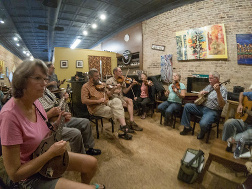 Old Time Mountain Music at The Stomping Grounds-001
