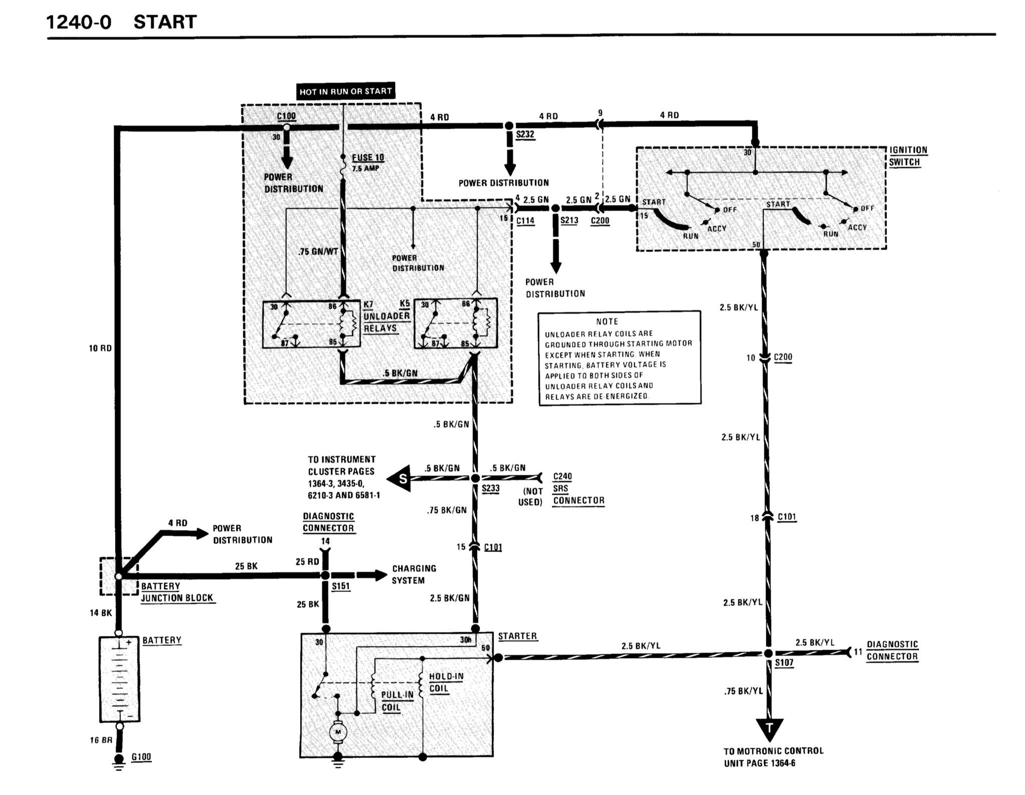 Alternator To Starter Wiring Question