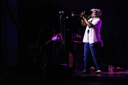 Trombone Shorty with Kermit Ruffins