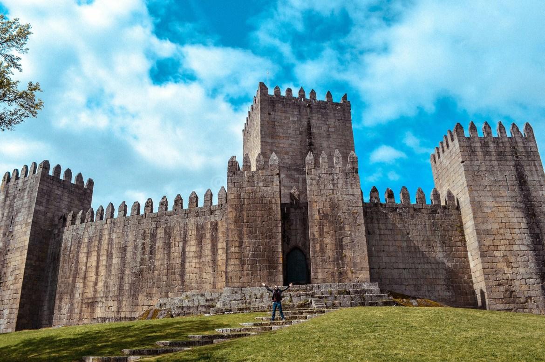 · Ruta de un día por Guimarães · Castillo de Guimarães ·