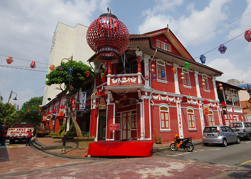 the old town of johor bahru