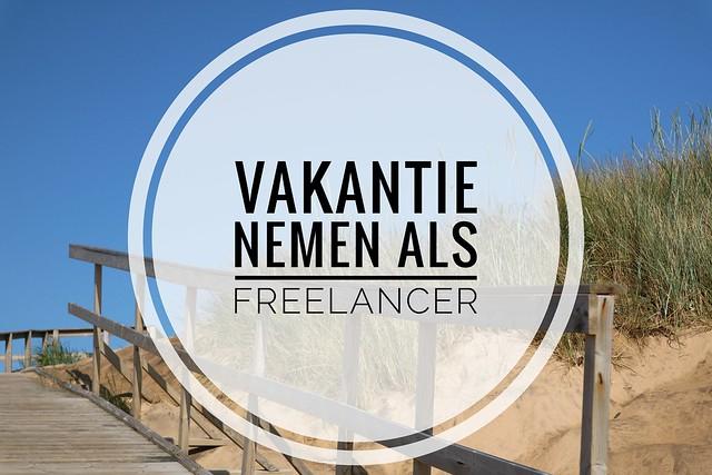 Vakantie freelancer