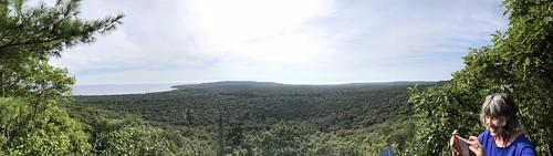 Pancake Bay Lookout hike panorama