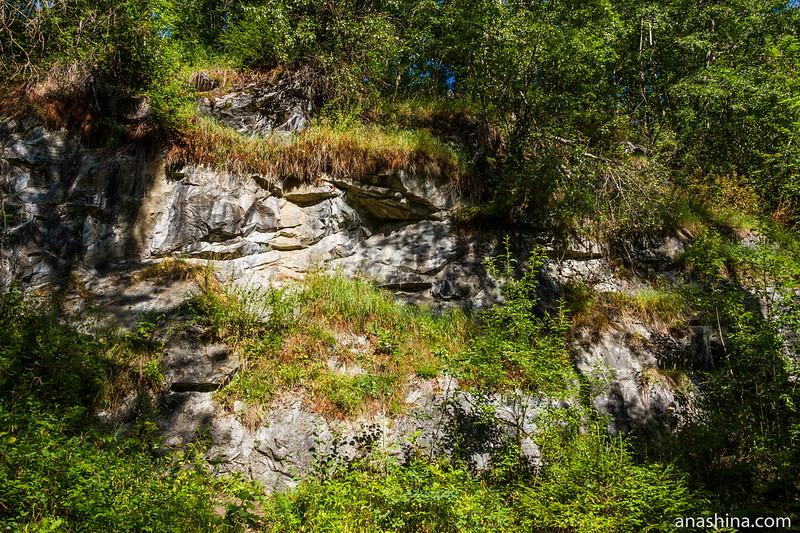Мрамор, горный парк Рускеала
