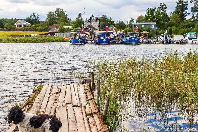 Пристань в Берёзово