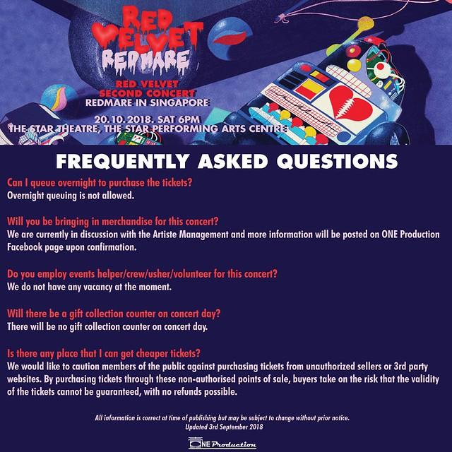 Red Velvet 'REDMARE' Concert in Singapore FAQ06