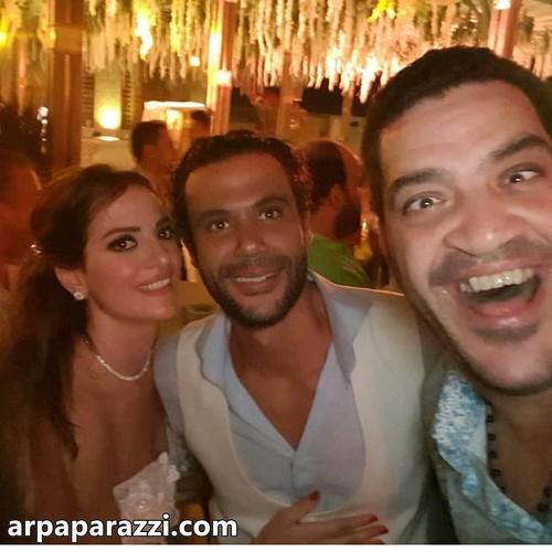 حفل زفاف محمد امام (1)