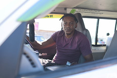 Rosignol, West Coast Berbice mini bus operator.