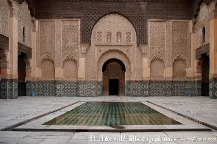 Marrakech 201405 Medersa Ben Youssef 7593