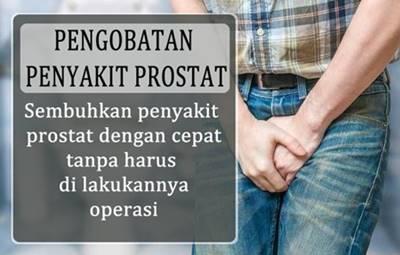Cara Menyembuhkan Penyakit Prostat Secara Alami Tanpa Operasi