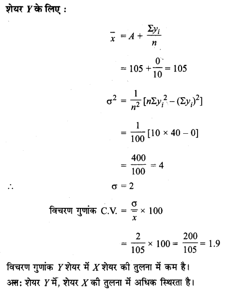 UP Board Solutions for Class 11 Maths Chapter 15 Statistics 15.3 2.4