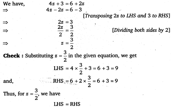 NCERT Solutions for Class 8 Maths Chapter 2 Linear Equations In One Variable 34
