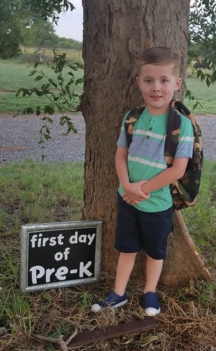 1st day of Pre-K