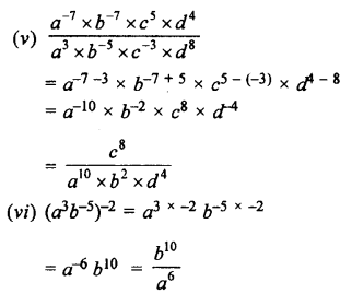 Selina Concise Maths class 7 ICSE Solutions - Exponents (Including Laws of Exponents)-4b.........