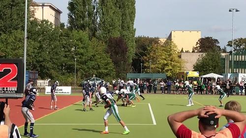 Bullets B-Jugend vs Thunderbirds 27 Touchdown Darius