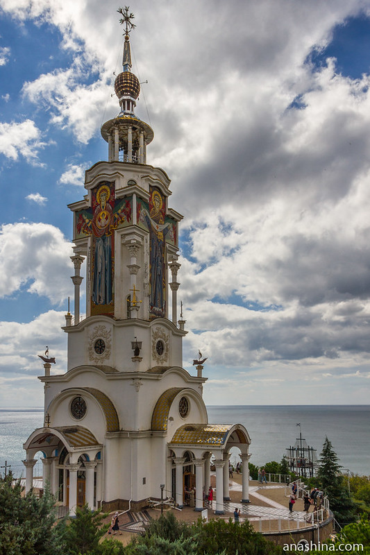 Храм Святителя Николая Чудотворца Мирликийского, Малореченское, Крым