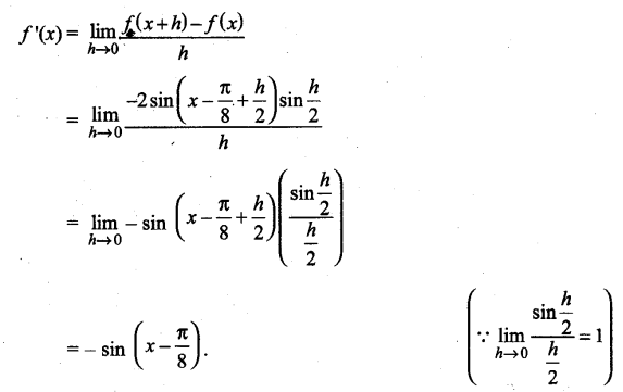 UP Board Solutions for Class 11 Maths Chapter 13 Limits and Derivatives 1.3