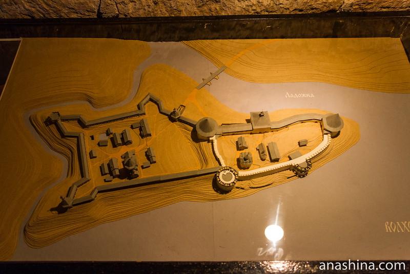 Реконструкция Ладожской крепости в XVI веке, Старая Ладога