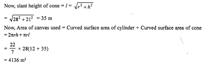 RD Sharma Class 10 Solutions Chapter 14 Surface Areas and Volumes Ex 14.2 38a