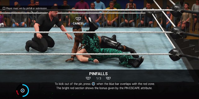 WWE 2K19 How To Pin