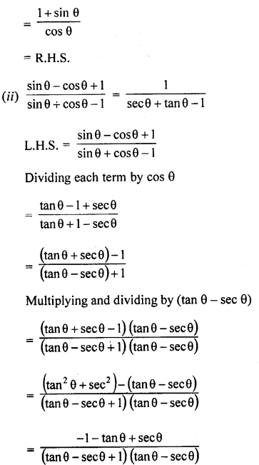 RD Sharma Class 10 Pdf Free Download Full Book Chapter 6 Trigonometric Identities