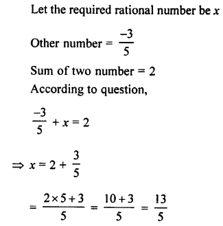 Selina Concise Mathematics class 7 ICSE Solutions - Rational Numbers-c11