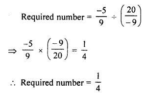Selina Concise Mathematics class 7 ICSE Solutions - Rational Numbers-e10