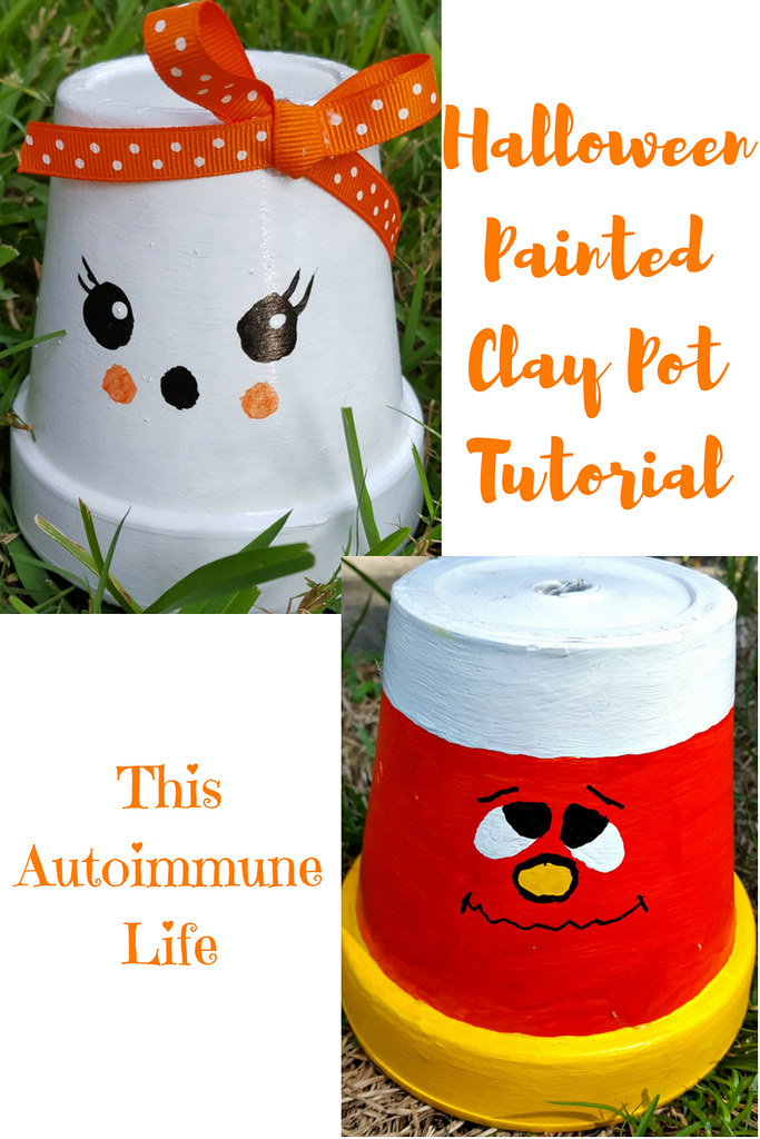 PaintedClay Pot Tutorial for September Pinterest Challenge from www.thisautoimmunelife.com