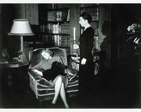 Joan Fontaine, la Rebecca 1940 de Alfred Hitchcock.