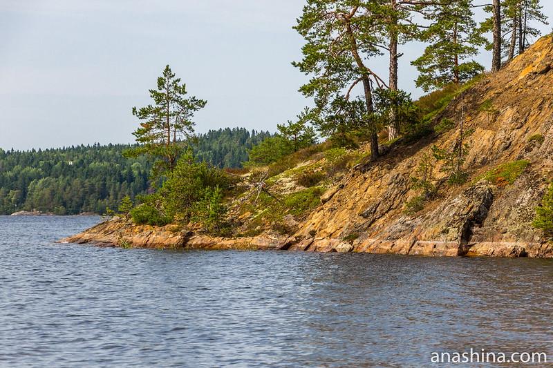 Скалистый мыс, Ладожское озеро