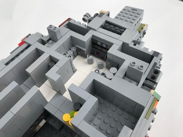 The LEGO Star Wars GR-75 Transport is away